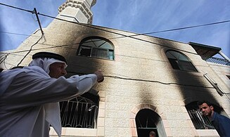 Arabs Say Mosque Torched in 'Price Tag' Attack