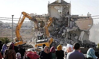 US protests demolition of illegal Arab buildings