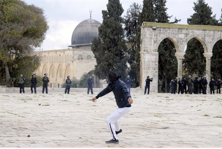 Riots on the Temple Mount (file)