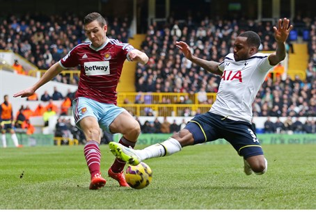 The abuse took place during Sunday's game between Spurs and West Ham