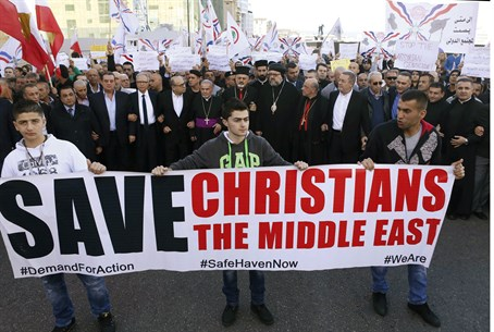 Christians in Syria and Iraq are under unprecedented attack from ISIS