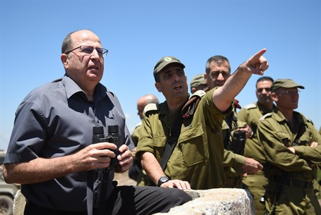 Moshe Ya'alon on the Golan Heights