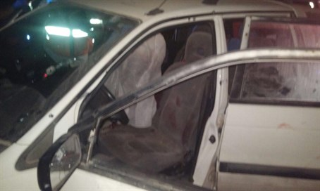Victims' car peppered with bullets in aftermath of attack