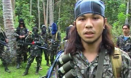 Abu Sayyaf terrorists in the Phillipines (file)