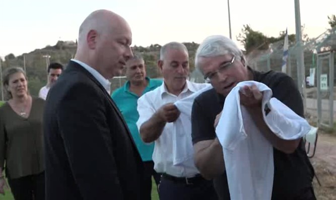 Greenblatt at Arab-Jewish soccer club