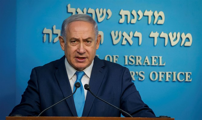 Prime Minister Binjamin Netanyahu during press conference regarding the Disabled Layout. J