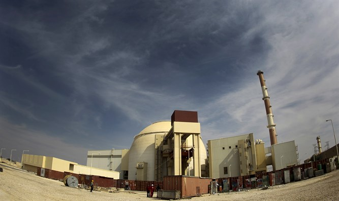 Iran's Bushehr nuclear power plant in Iran