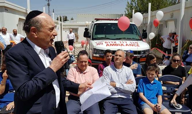 New ambulance for Beit El