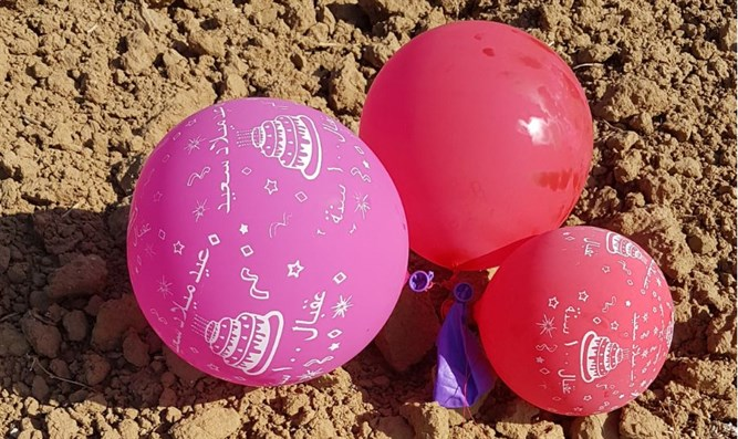 Incendiary balloons in Gaza envelop