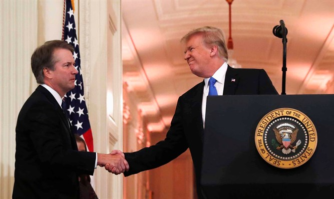 Trump introduces Brett Kavanaugh
