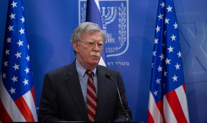 John Bolton in Jerusalem