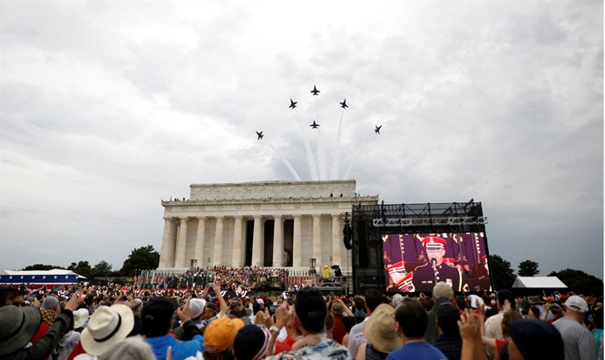"""Salute to America"" Independence Day celebration in Washington"