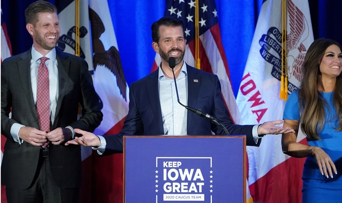 Donald Trump Jr. at Des Moines rally, February 3rd 2020