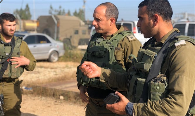 Golani commander and IDF Menashe regional commander