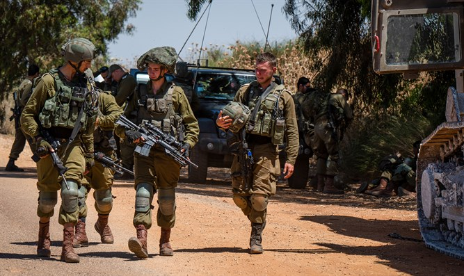 Suspected infiltration from Lebanon, IDF conducting searches