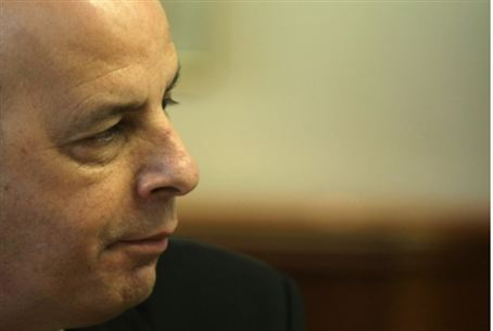 Shin Bet chief Yuval Diskin.