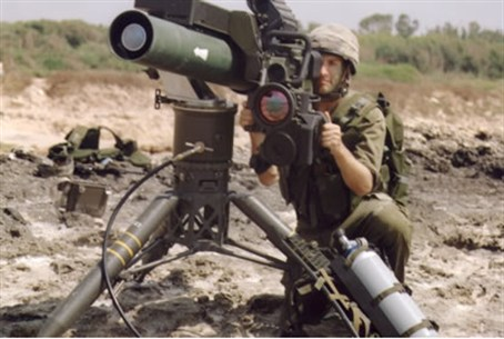 Spike anti-tank missile