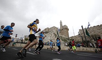 Video & Photos: 20,000 Run in Jerusalem Marathon