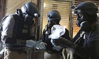 Entire Syrian Chemical Weapon Stock Destroyed