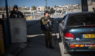 Israeli checkpoint stops another massacre