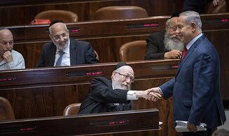 Haredi 'Draft Law' passes first reading in Knesset