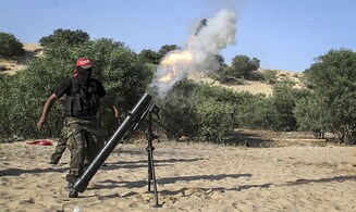 IDF forces come under mortar fire near Gaza Strip