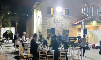 Police disperse weddings in Kfar Chabad, other moshavim in south