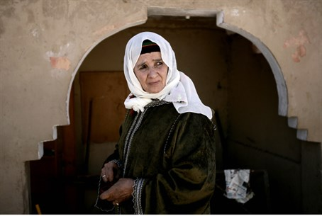 Woman, with hijab, in Morocco (illustrative)