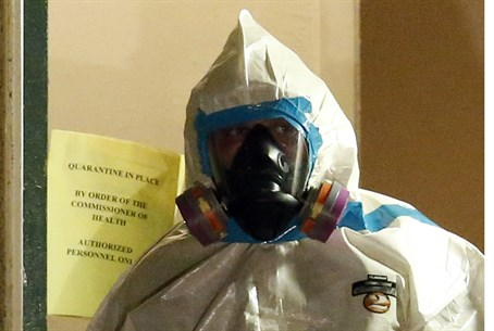 Health worker responds to Ebola case in Dalla