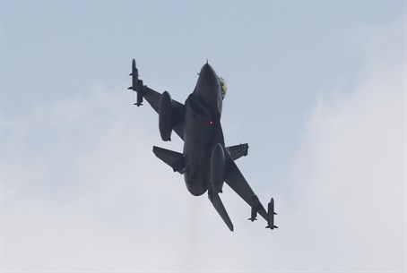 Turkish F-16 takes part in anti-PKK bombing campaign
