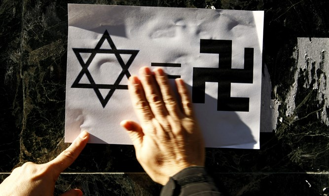 Anti-Semitism in Europe (illustration)