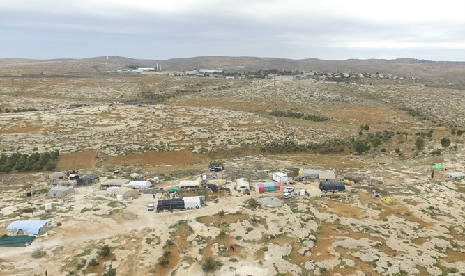 Illegal Arab settlement