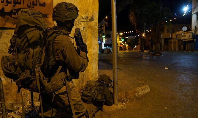 IDF forces in Jenin