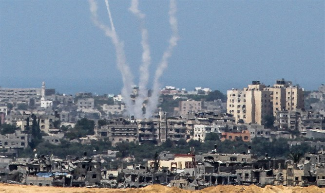 Gaza terrorists fire rockets
