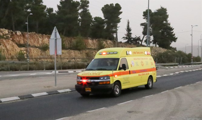 Magen David Adom Ambulance (illustration)