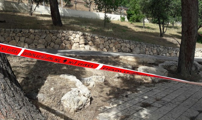 site of Armon Hanatziv stabbing attack