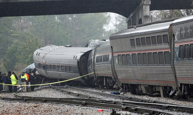 Scene of South Carolina train accident