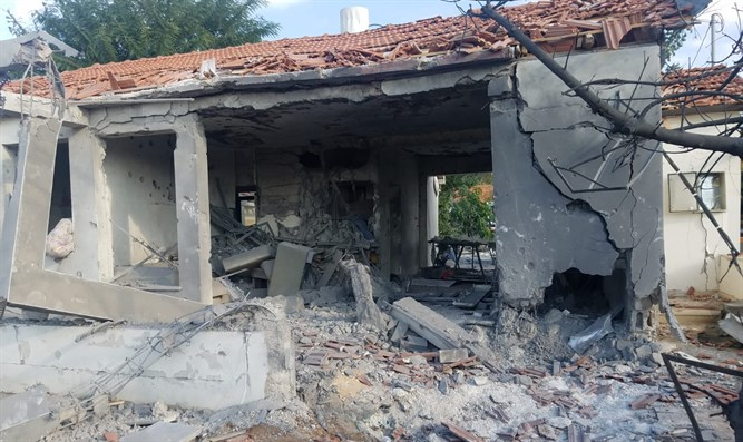 home struck by Gaza rocket