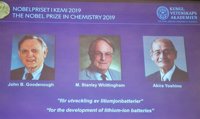 Nobel Prize in Chemistry 2019 winners