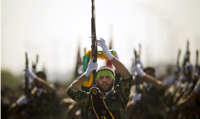 Members of Iran's Basij militia