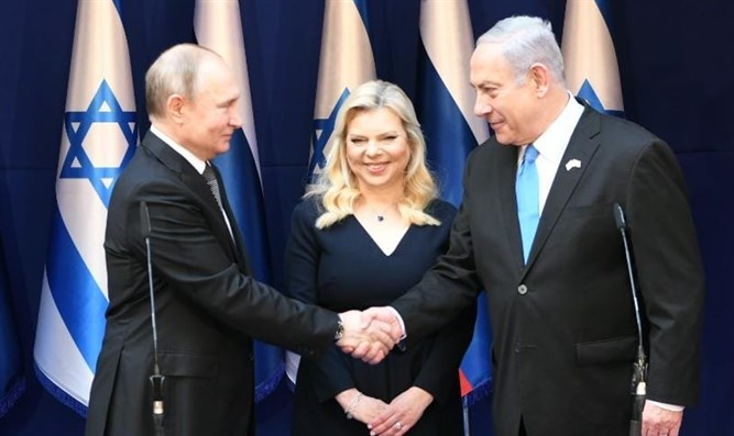 Netanyahu meets with Putin (archive)