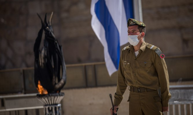 Memorial Day fire at the Western Wall
