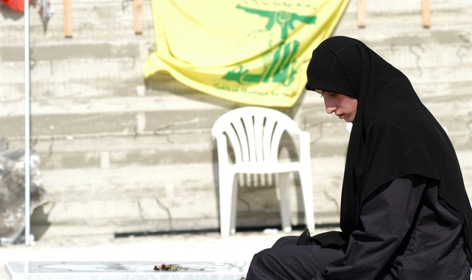 Lebanese woman under Hezbollah subjugation