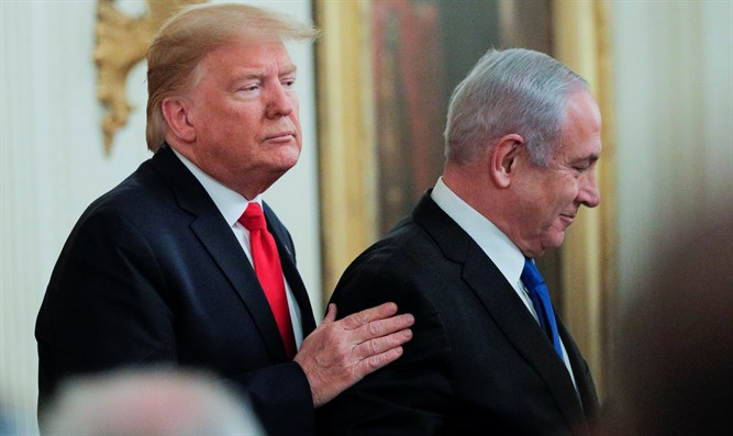 Trump and Netanyahu appear at press conference January 28th, 2020